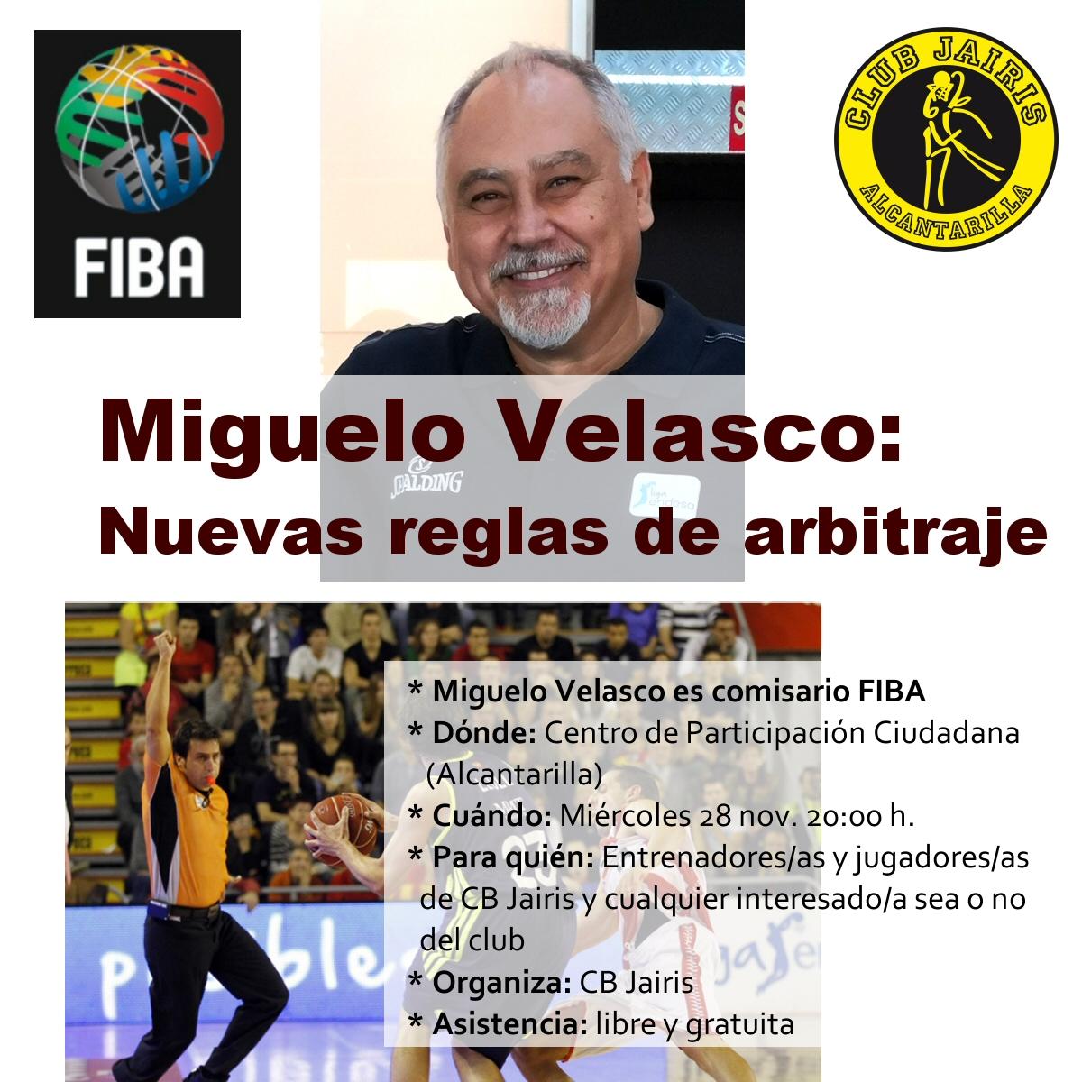 Charla Miguelo Velasco